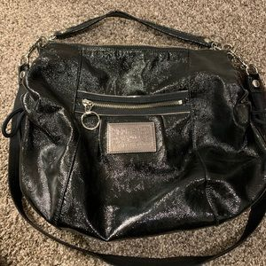 Coach Poppy Patent Leather Jazzy Hobo Bag